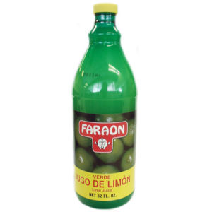 FARAON LIMON VERDE JUICE  12/32 OZ