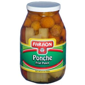 FARAON PONCHE GLASS       12/32 OZ