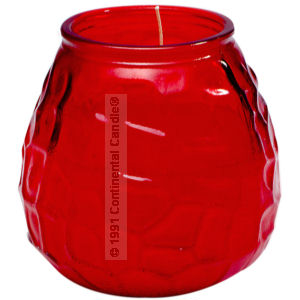 VISA CANDLE RED           12  EACH